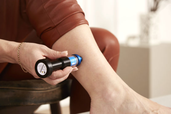 PERSONAL-LASER L400 Homecare - Treatment of calf